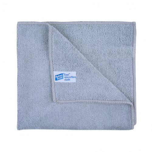 Grey Large Exel Microfibre Cloths