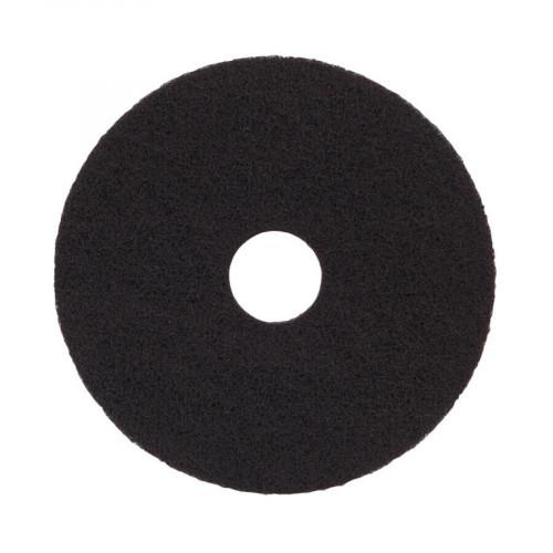 """Black, Standard Speed, Floor Pad 15"""" - 5 units"""