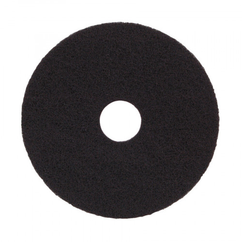 Black, Standard Speed, Floor Pad 8""