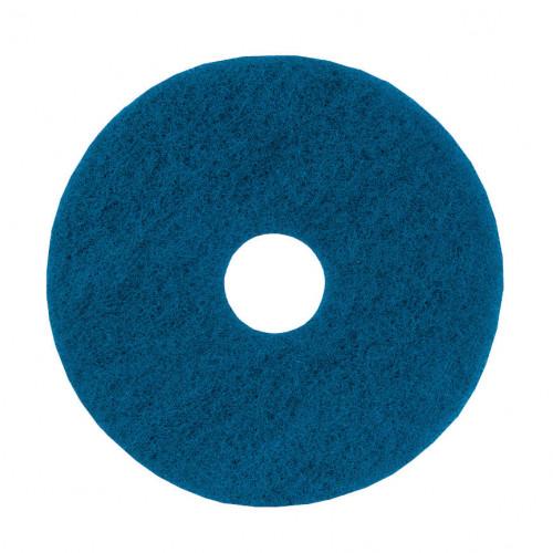 """Blue 15"""", Medium Duty, Floor Pads"""