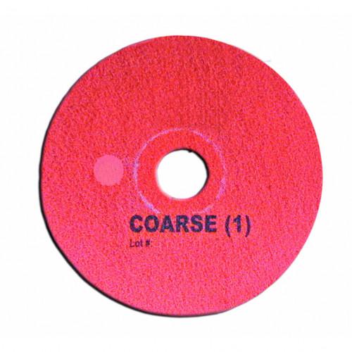 """Red Ferzzon 15"""", Coarse Grade, Floor Pad"""