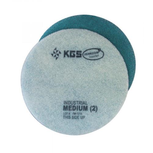 """Blue Ferzzon 15"""", Medium Grade, Floor Pad"""