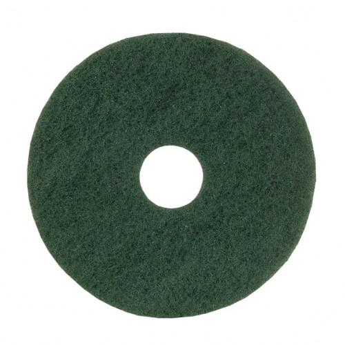 "Green 15"", Heavy Duty, Floor Pads"