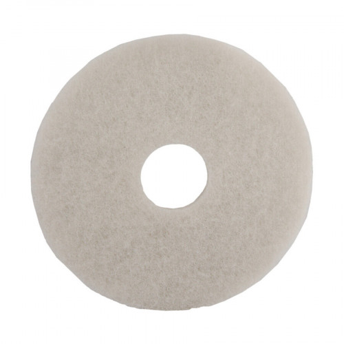 "White 17"", Polishing Buff, Floor Pads"