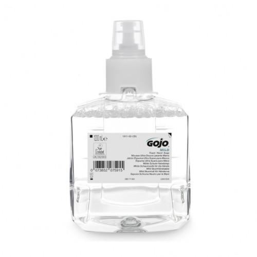 1200ml Gojo Mild Foam Fragrance Free Foam Soap Cartridge