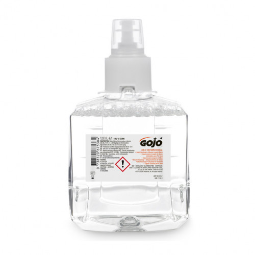 1200ml Gojo Antimicrobial Hand Soap Cartridge