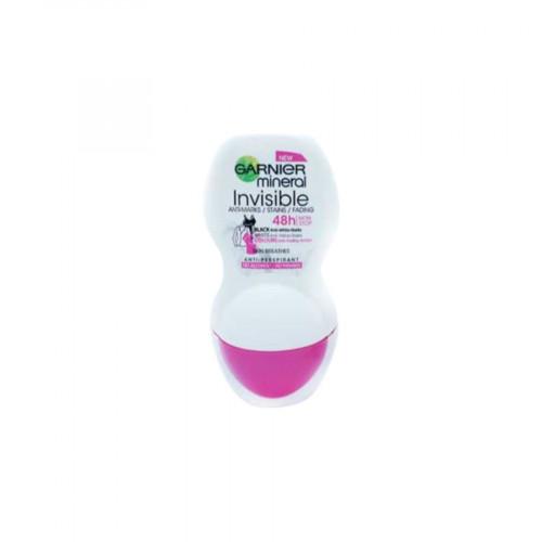 Garnier Deodorant - Womans - Roll On - Invisible - 50ml