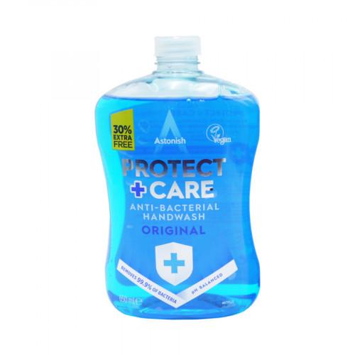 Astonish Protect and Care Anti Bacterial Handwash Original 650mls Front