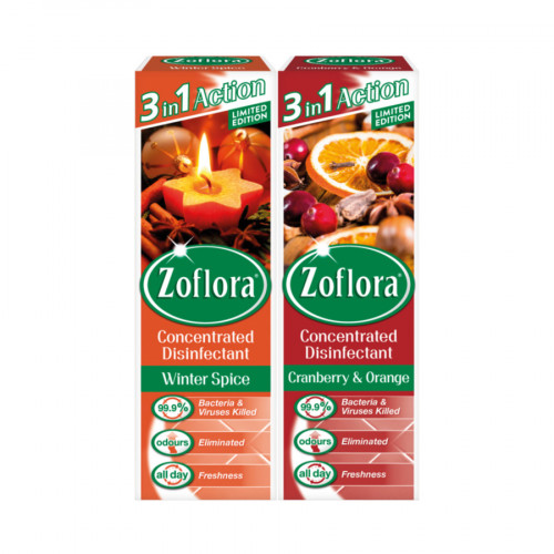 Zoflora Concentrated Disinfectant Winter Assortmen