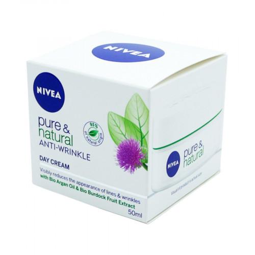 Nivea Anti Wrinkle Day Cream Pure & Natural