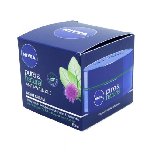 Nivea Anti Wrinkle Night Cream Pure & Natural
