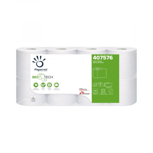 Papernet Biotech 2 Ply Recycled Toilet Rolls