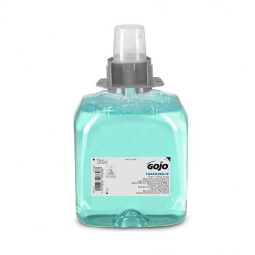 1250ml Gojo Freshberry Foam Hand Soap Cartridge