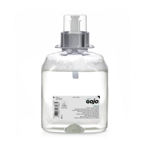 1250ml Gojo Mild Foam Fragrance Free Foam Soap