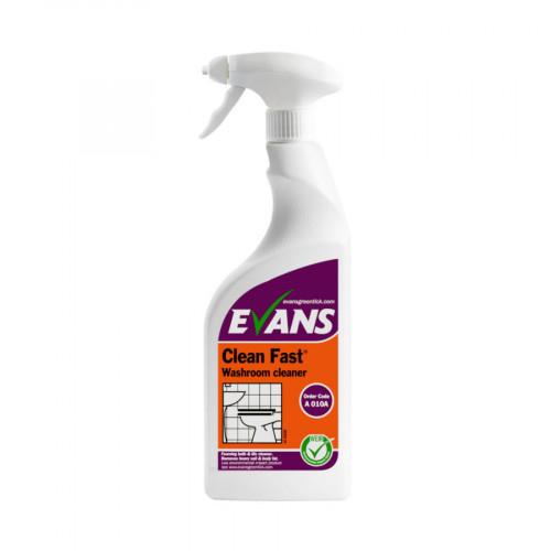 Evans Vanodine Clean Fast 750ml