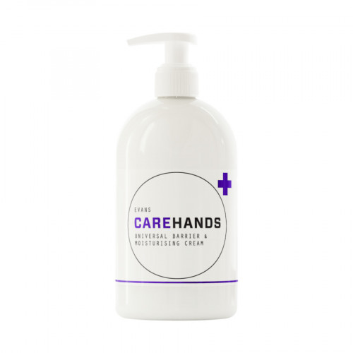 Evans Vanodine Carehands Barrier & Moisturiser Cream - 500ml