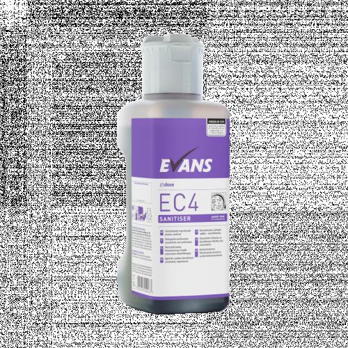 Evans Vanodine EC4 Multi Surface Cleaner & Disinfectant - 1L - Individual