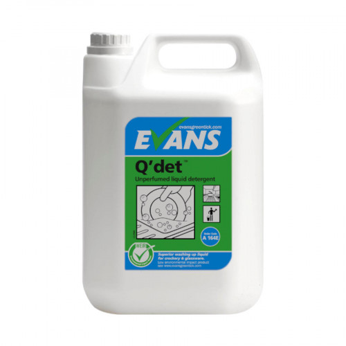 5L Q'Det Concentrated Washing Up Liquid