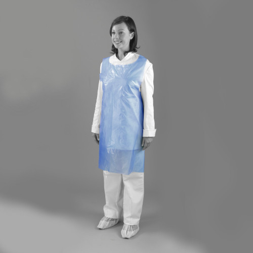 """Aprons - On a Roll - 60g - 42"""" - Blue - Case of 1000"""
