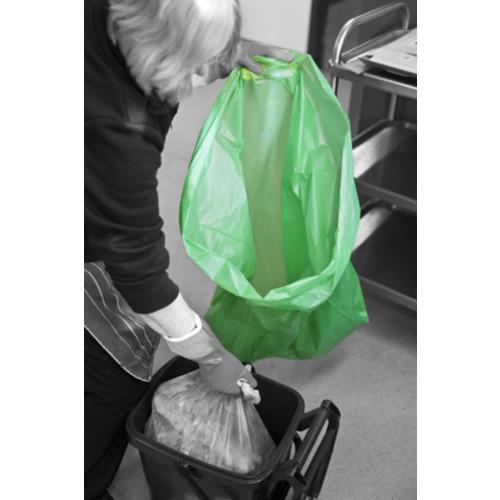 Green bin liner