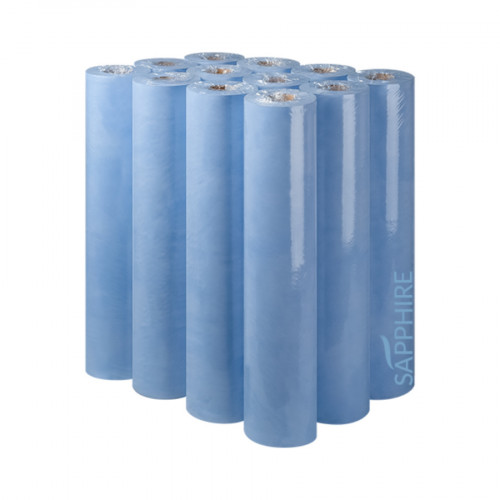 Sapphire 50cm 2 Ply Blue Hygiene Rolls