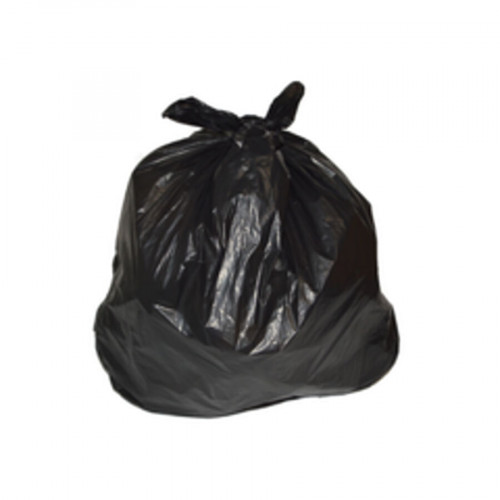 Black light duty bin liner