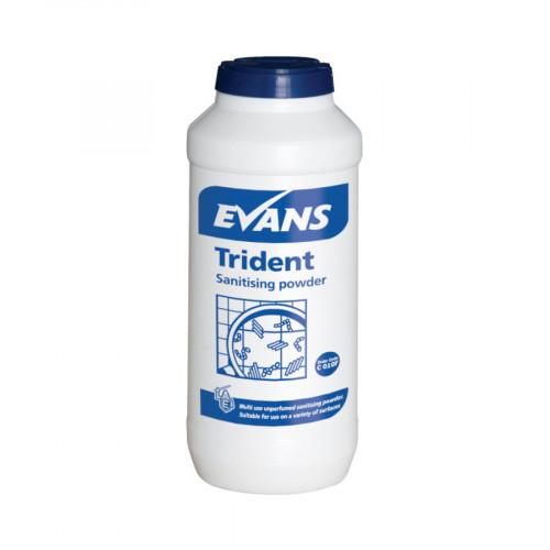 500g Trident Sanitising Surface Powder