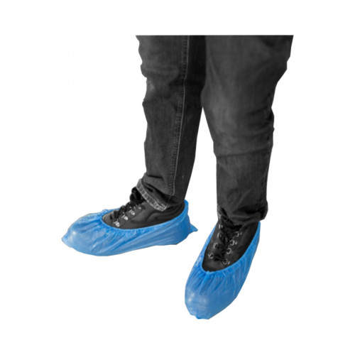 Foot Covers - Blue - Pack of 100