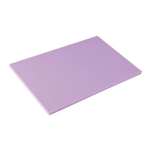 Purple Hygiplas Standard Low Density Chopping Board
