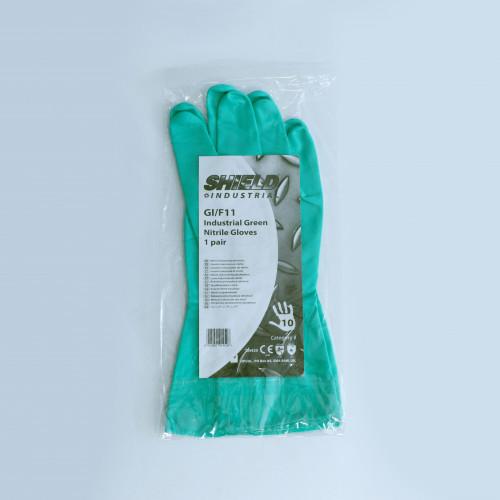 Gloves - Nitrile Household - Green - Various Sizes