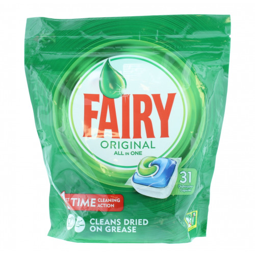 Fairy Original All-in-one - Dishwasher Tablets - 31