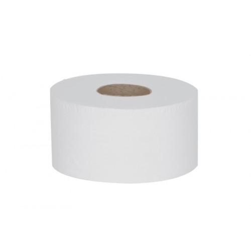 "Essentials Mini Jumbo 2 Ply 3""/7.6cm Core Toilet Rolls"