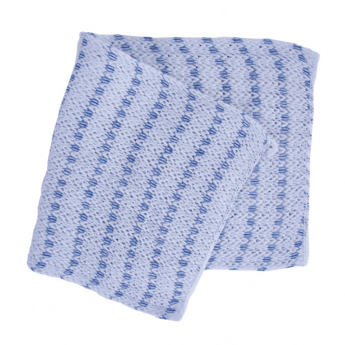 Blue Striped Chunky Cloths