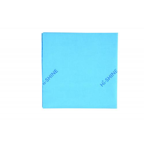 Blue Microfibre Hi-Shine Cloth - Pack of 10