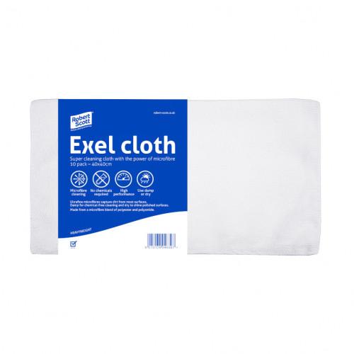 White Microfibre Cloths