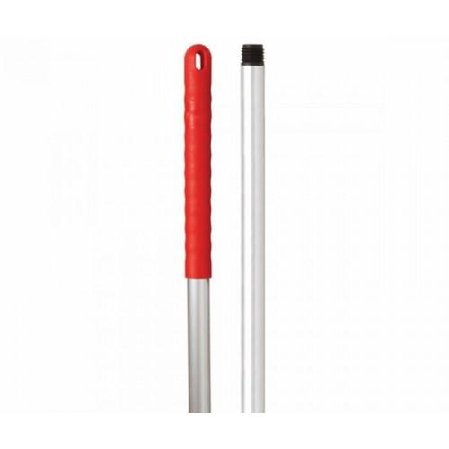 Aluminium Handle Hygiene Red