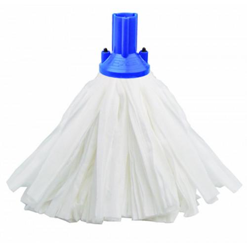 Blue Big White Exel Socket Mop Head