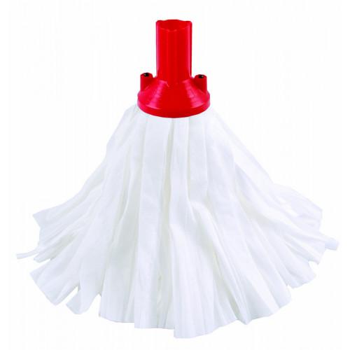 Red Big White Exel Socket Mop Head