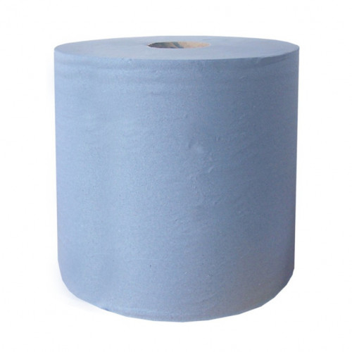 Standard Blue 2-Ply Wiper Rolls - Case of 2