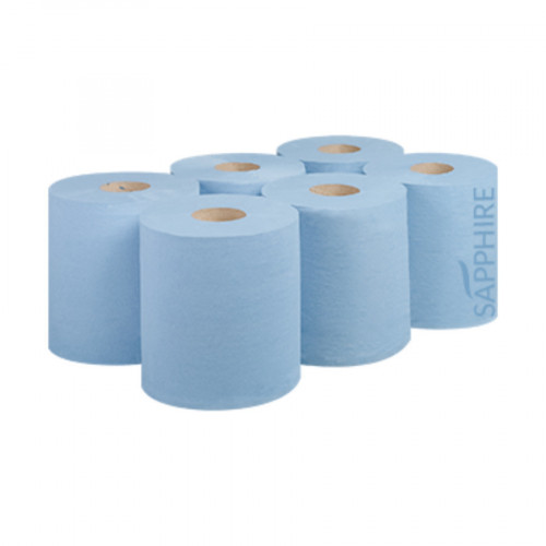 Blue Centrefeed Roll - Sapphire