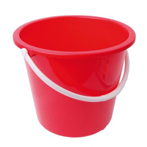 Red Homeware Bucket 10L