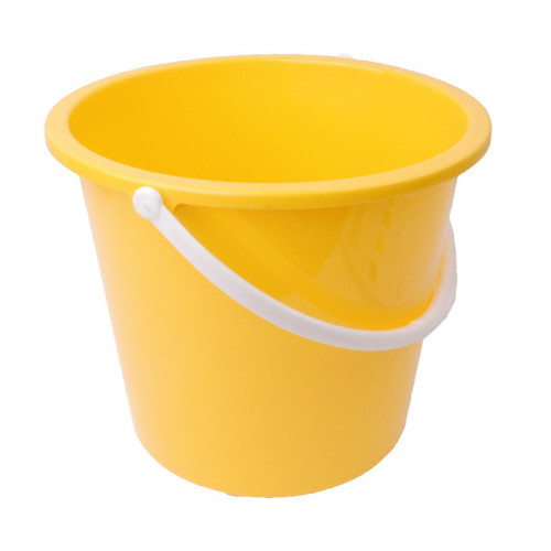 Yellow Homeware Bucket 10L