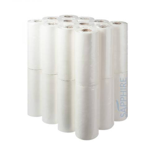 Sapphire 25cm 2 Ply White Hygiene Rolls