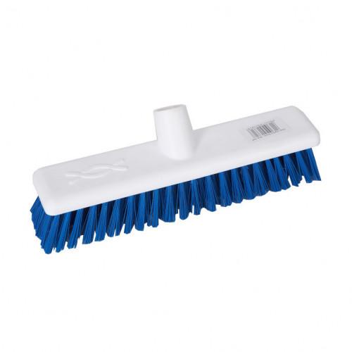 Blue 30cm Stiff Hygiene Brush Head