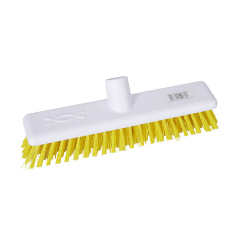 Yellow 30cm Stiff Hygiene Brush Head