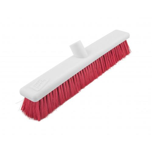 Red 45cm Stiff Hygiene Head
