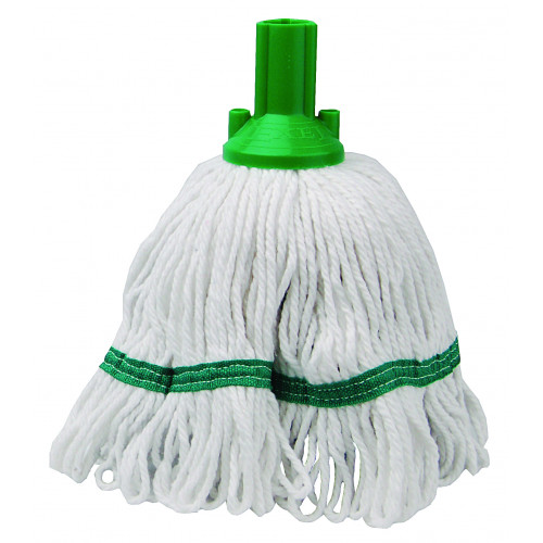 Green 250g Hygiene Socket Mop Head