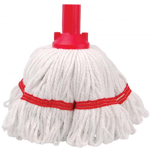 Red 250g Hygiene Socket Mop Head