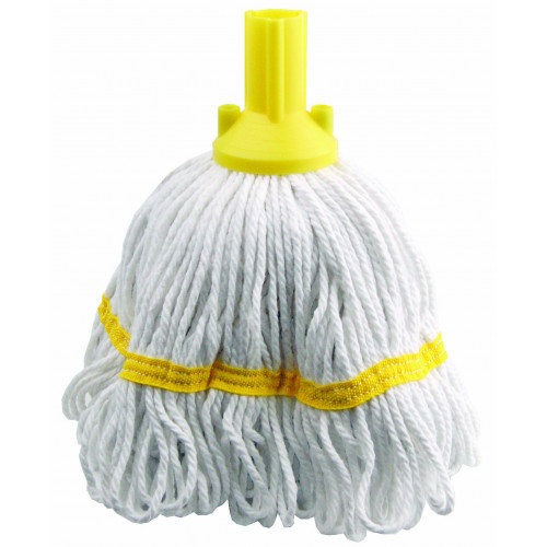 Yellow 250g Hygiene Socket Mop Head