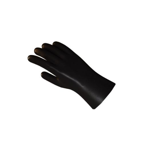 Black heavy duty glove